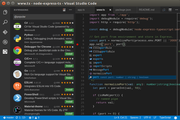 Python 集成开发环境(IDE): VS Code